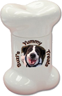 Dog Bone Shaped Biscuit Jar