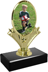 Small Vertical Oval Trophy
